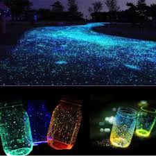 glow in the pebbles 100g pack luminous stones sand ceremony glowing pebbles