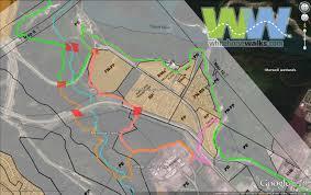 Yukon River Map Walking Along The Yukon River Escarpment Marwell Wetlands To