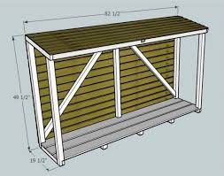 Plans For Building A Firewood Shed by The 25 Best Firewood Shed Ideas On Pinterest Wood Shed Plans