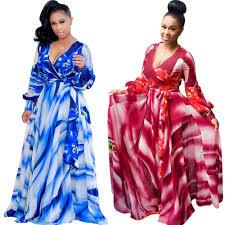 blue floral print long sleeve maxi dress floor length with belt