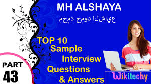 waitress interview tips mh alshaya top most interview questions and answers for freshers