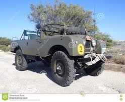 land rover vintage classic series 1 military land rover editorial stock photo image