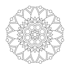 easy coloring page coloring page