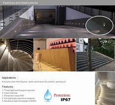 1w dc 12v ip67 dhl led outdoor step light deck stair lights spot