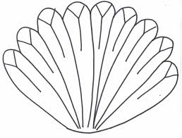 marvelous design inspiration turkey feathers coloring pages 17