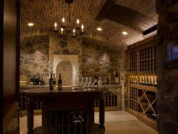 Wine Cellar Chandelier Wine Tasting Table Wine Cellar Traditional With Barrel Vault