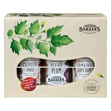 where can i buy a gift box buy barkers gift box 3 sauces 990g online at countdown co nz