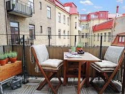 gorgeous outdoor balcony ideas with unique cover chairs design and