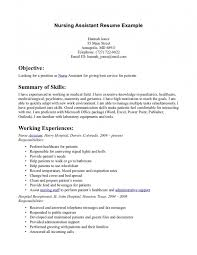 Waitress Job Resume by Job Duties Of Cna Cna Job Description Certified Nursing Assistant