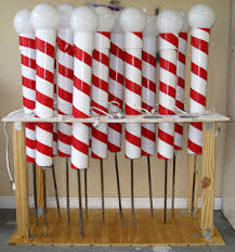 Outdoor Christmas Yard Decorations Sale by Pvc U0026 Duct Tape To Make North Pole That Lights Up Things For