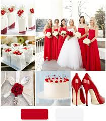 red and white table decorations for a wedding red and white wedding brilliant red and white wedding decoration