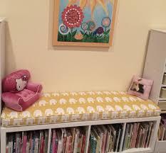 ikea kallax bench ikea kallax custom cushion playroom nursery organization
