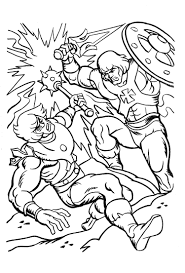 coloring pages of presents james eatock presents the he man and she ra blog june 2012
