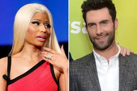 nicki minaj adam levine team with kmart for clothing