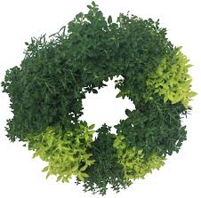 herb wreath herb living wreaths silverleaf greenhouses