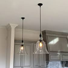 Vintage Pendant Lights For Kitchens Kitchen Amazing Kitchen Light Fixtures Clear Glass Kitchen Light