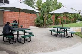 Patio Furniture Costa Mesa by Richard Neutra Designed U0027gems U0027 On Orange Coast College U0027s Cramped
