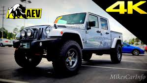 new jeep truck 2014 jeep truck aev brute double cab quick look in 4k youtube