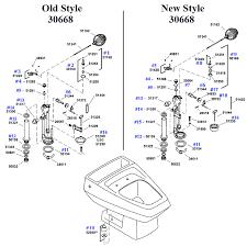 kohler replacement parts befon for