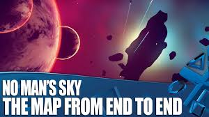 Map From No Man U0027s Sky The Map From End To End Youtube