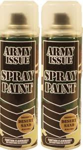 2 x military vehicle u0026 equipment army camouflage spray paint 250ml