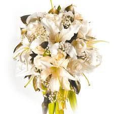 Cascade Bouquet Cascade Bouquet Of Lilies And Roses U2013 Lola