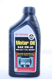 motor toyota amazon com toyota genuine motor oil sae 5w30 oil 1 quart automotive