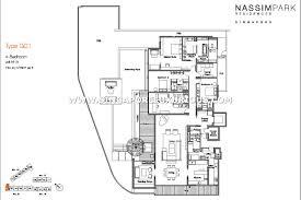 trillium floor plan nassim park residences site u0026 floor plan singapore luxurious