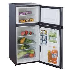 home depot stainless steel dishwasher black friday magic chef 4 3 cu ft mini refrigerator in stainless look