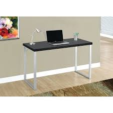 Desk Computer For Sale Desk Monarch Computer Desk 48l Cappuccino Silver Metal Computer