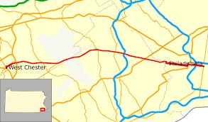 Philadelphia Pa Map Pennsylvania Route 3 Wikipedia