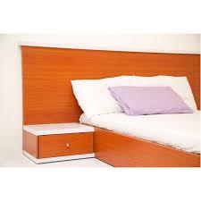 comfy bed 6 x 6 with 2 bedside cherry white u2013 cozy concept com