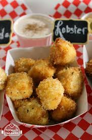 county fair style fried mac u0026 cheese bites nacho gouda u0026 lobster