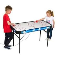 kids air hockey table kids 4ft air hockey table full airflow easy to assemble manual