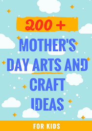 easy mother u0027s day arts and craft projects for kids lady and the blog