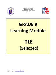 docslide us grade 9 learning module in technology and livelihood