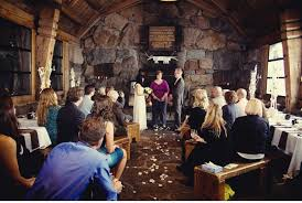 Small Intimate Wedding Venues Cozy Mountaintop Wedding Ruffled