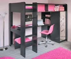 bureau surélevé lit sureleve fille charmant bureau fille 5 ans 5 lit mezzanine