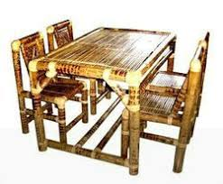 Bamboo Dining Table Set Bamboo Dining Table Baans Ki Dining Table Manufacturers Suppliers