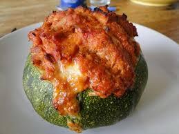 comment cuisiner les courgettes au four courgette ronde thon tomate aurélie cuisine