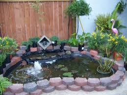 above ground garden pond home outdoor decoration