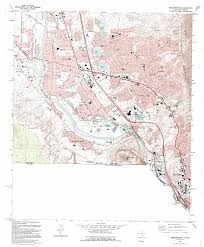 New Mexico Topographic Map by Smeltertown Quadrangle The Portal To Texas History