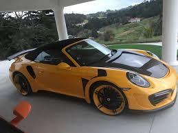 porsche 911 stinger кузовной комплект topcar stinger gtr на porsche 911 эффектнее
