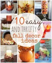 Dollar Tree Decorating Ideas 10 Thrifty Fall Home Decor Ideas To Create Dollar Tree Decor