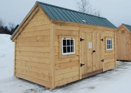 Storage Shed With Windows Designs Kits Plans And Prefab Cabins From The Jamaica Cottage Shop