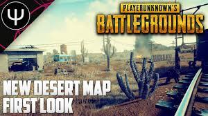 pubg new map release date playerunknown s battlegrounds new desert map first look youtube