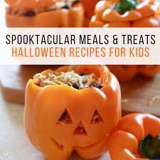 halloween cookbook spooktacular meals and treats halloween recipes for kids