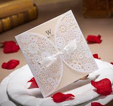 customized invitations laser cut customized invitation card for wedding birthday business