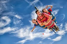 the skycoaster is a top branson missouri attraction