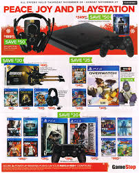 ps4 on black friday gamestop black friday ad surfaces big deals for ps4 xbox one and